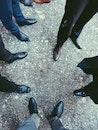 people, sand, legs