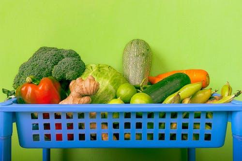 Darmowe zdjęcie z galerii z apple, brokuły, jabłko, jedzenie