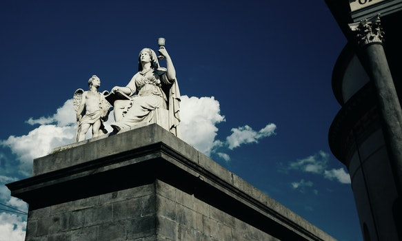 Free stock photo of sky, art, landmark, clouds