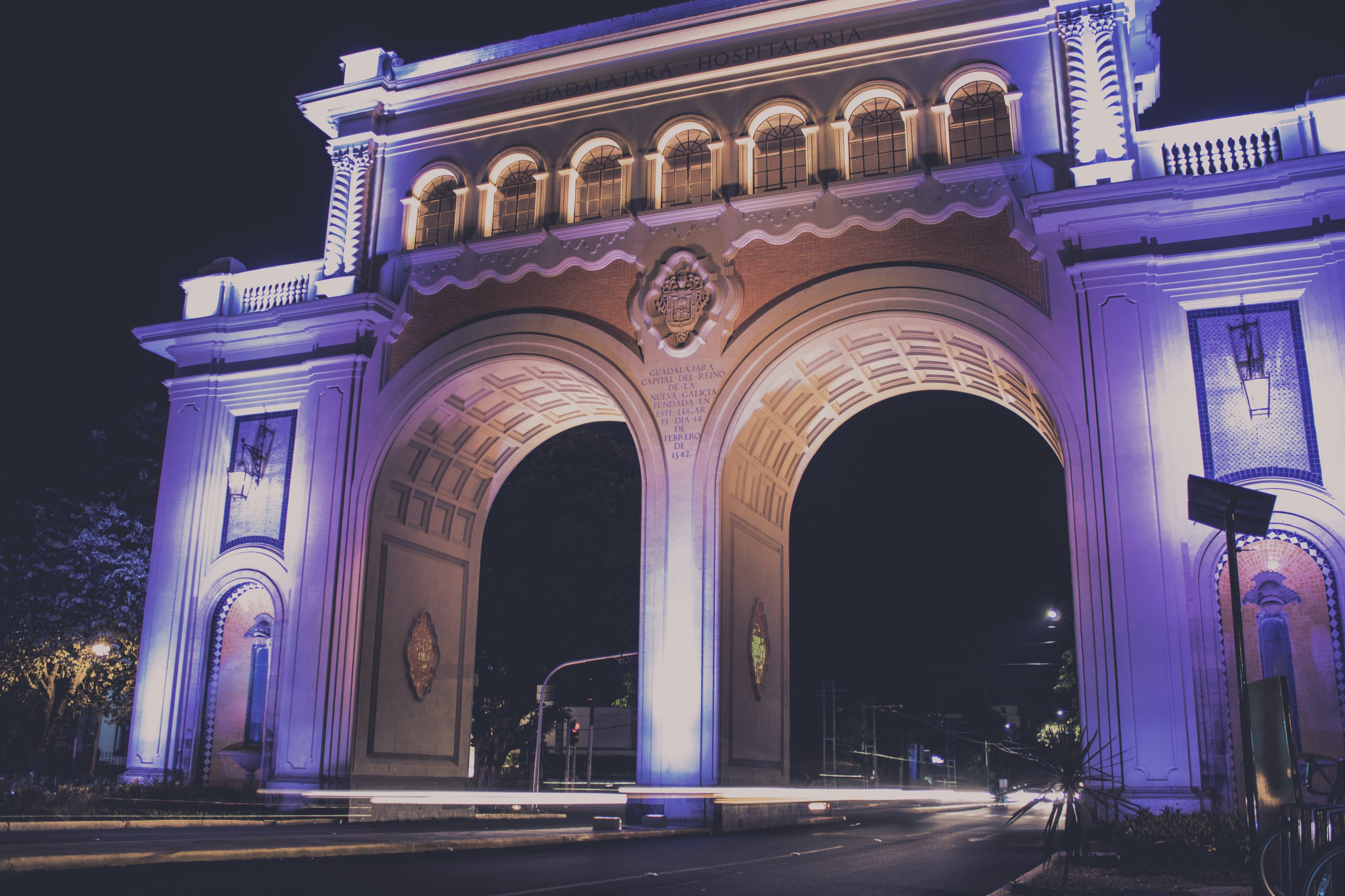 Brown Concrete Arch