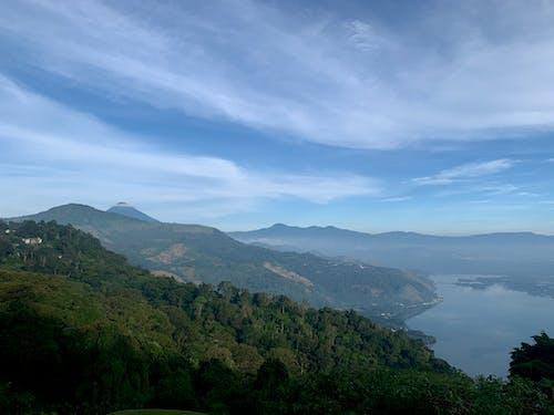 Free stock photo of beautiful sky, green trees, guatemala