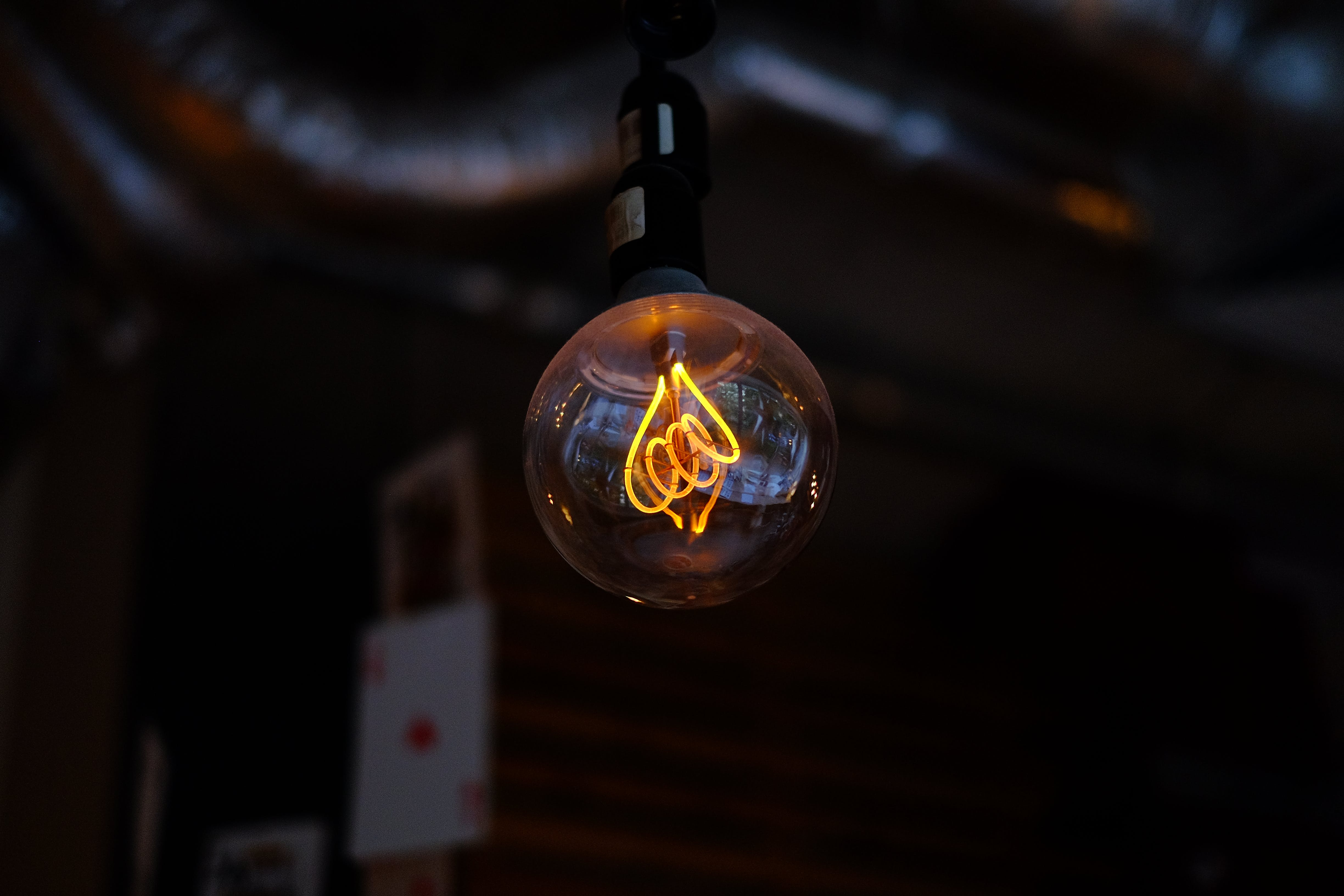 Selective Focus Photography of Bulb Light