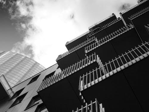低角度拍攝, 天空, 建築, 建築設計 的 免费素材照片