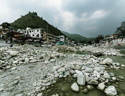 Foto stok gratis air, alam, Arsitektur, bageshwar