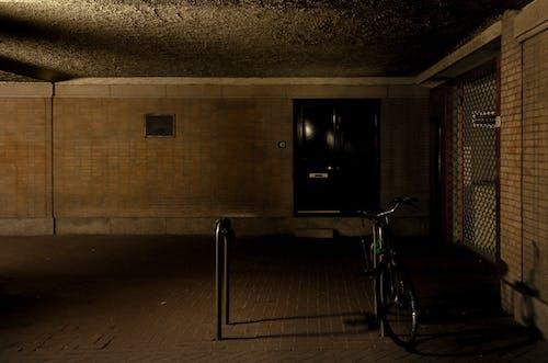Free stock photo of bicycle, dark, entrance