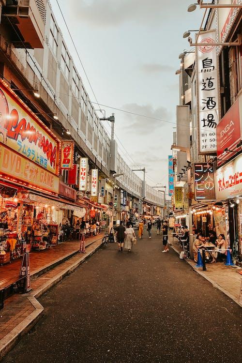 Kostnadsfri bild av byggnader, gata, handel