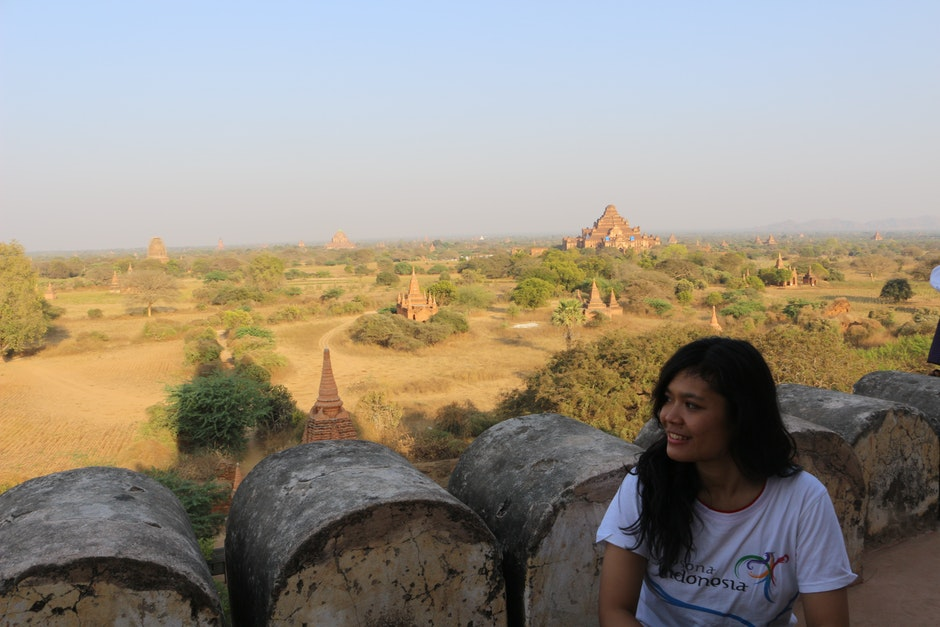 Bagan Plains with the Dhammayangyi on the left