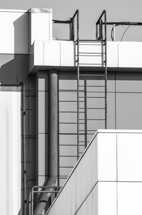 Free stock photo of building, geometry, shadow