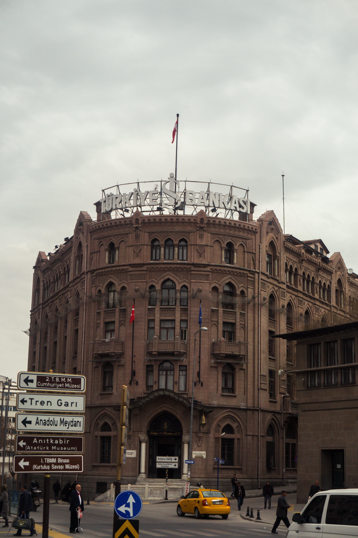 Free stock photo of ankara, apartment building, art, bank