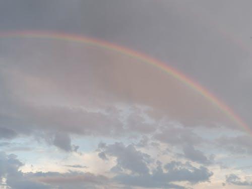 Free stock photo of cloud, rainbow, sky