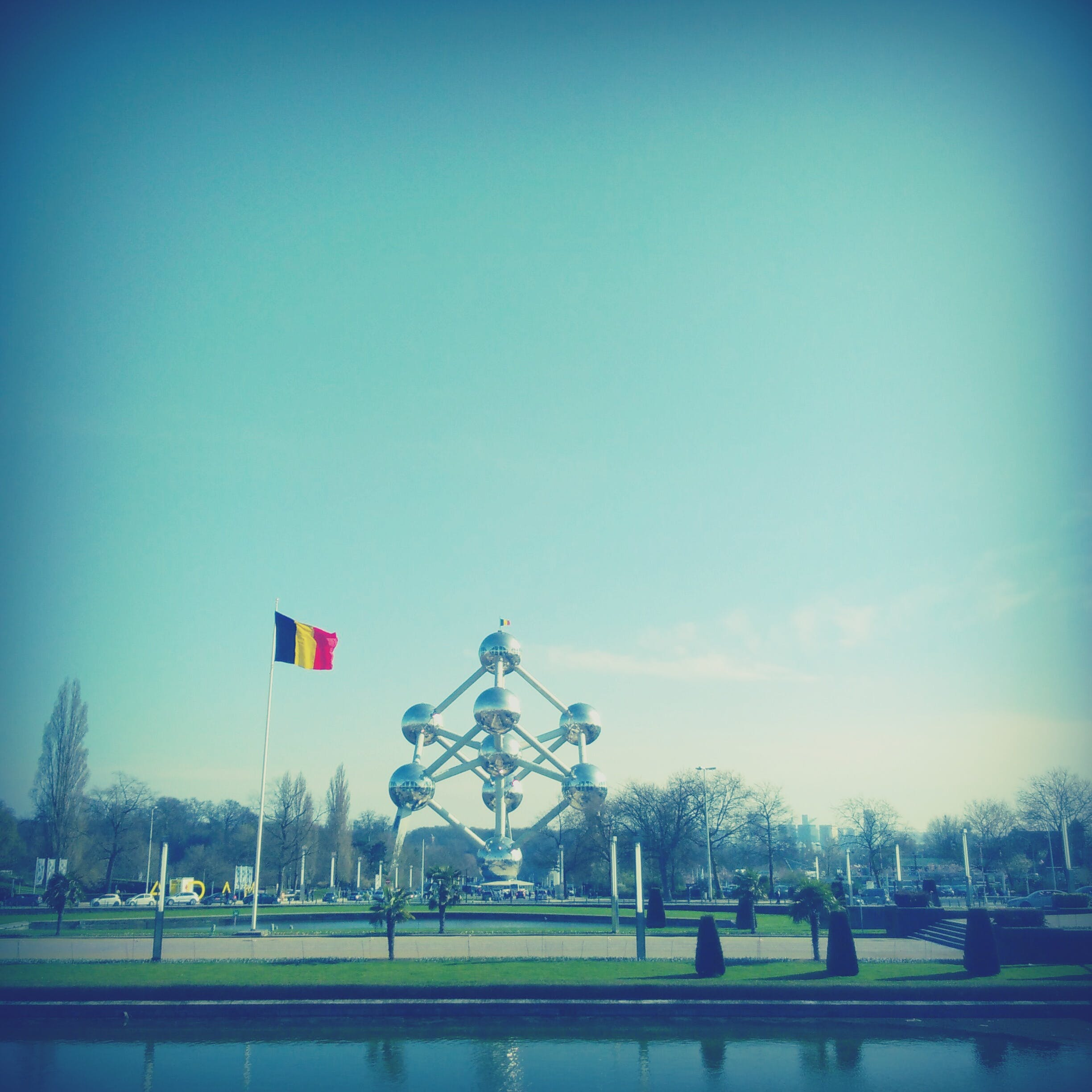 Free stock photo of atomium, Belgium, brussels