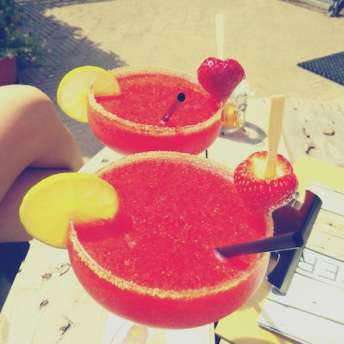 Free stock photo of Coctails, daiquiri, strawberry