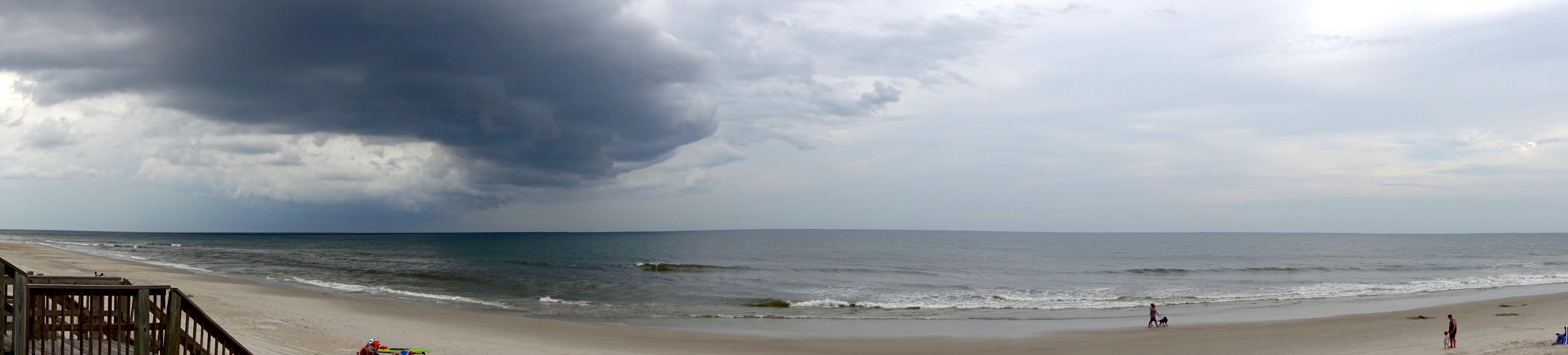 Free stock photo of beach, clouds, ocean, panorama