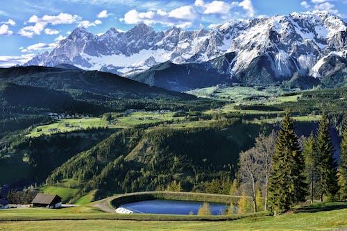 Foto stok gratis air, alam, alpine, awan