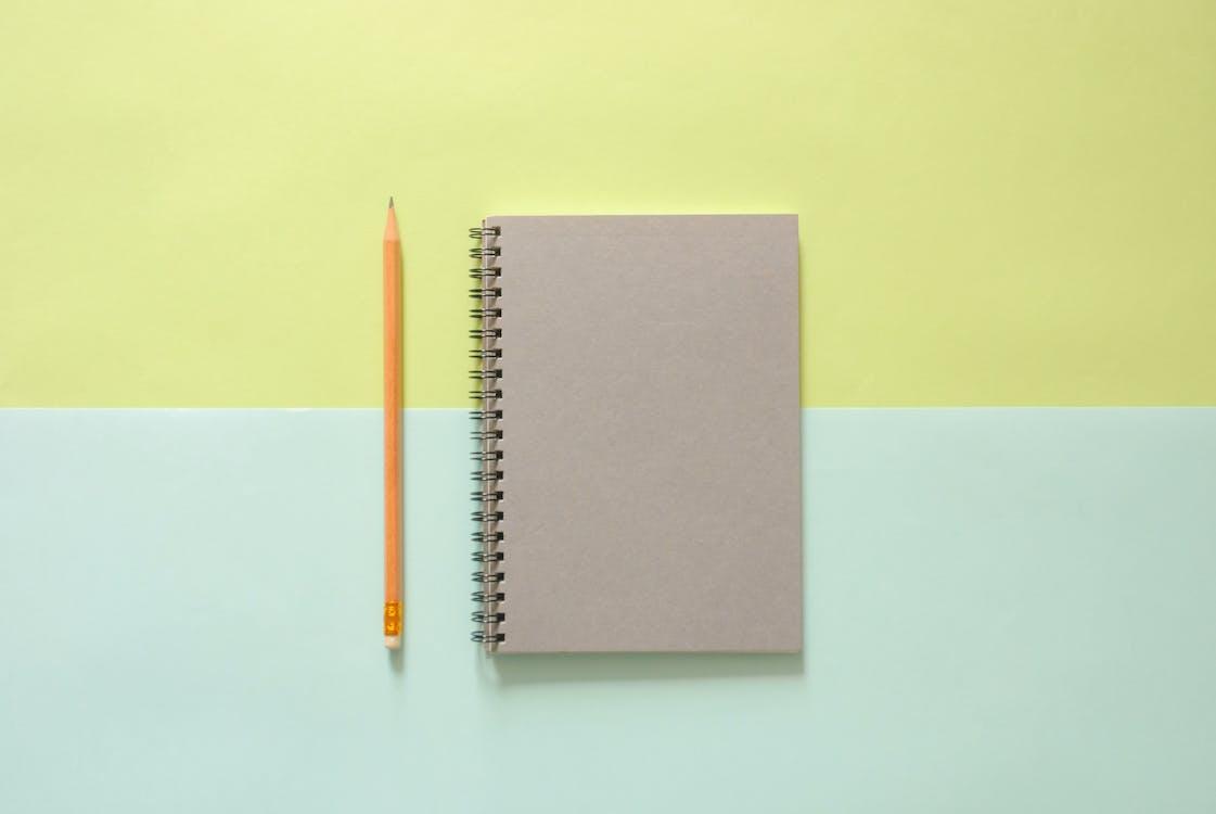 ceruzka, nástroj na písanie, pohľad zhora