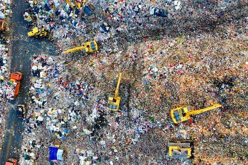 Aerial Footage of Landfill