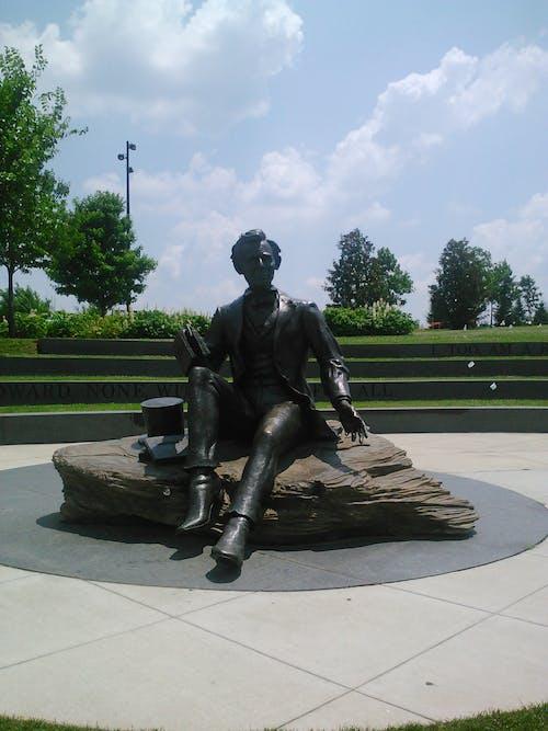 Foto d'estoc gratuïta de Abraham Lincoln, estàtua