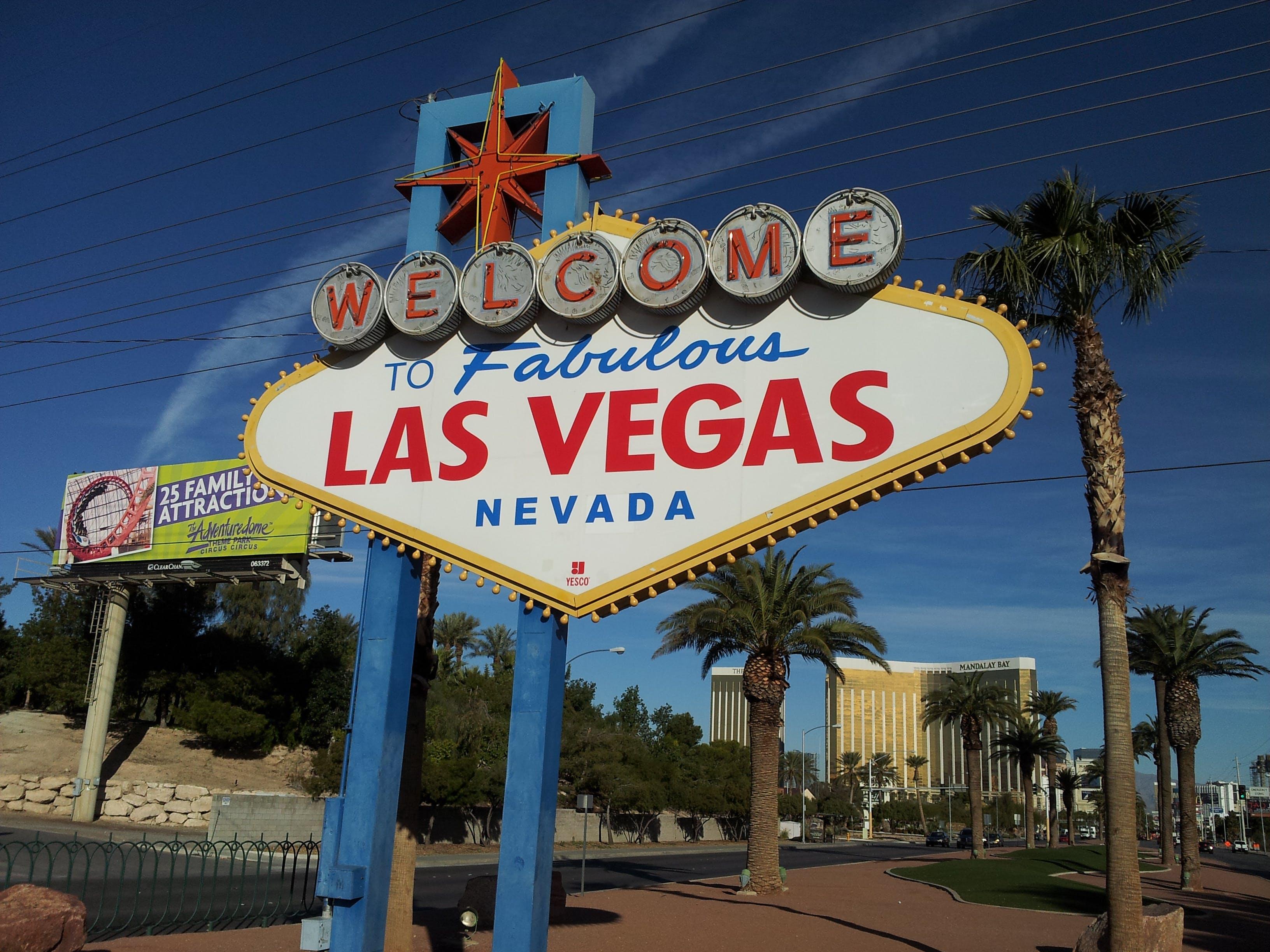 Free stock photo of Las Vegas, nevada