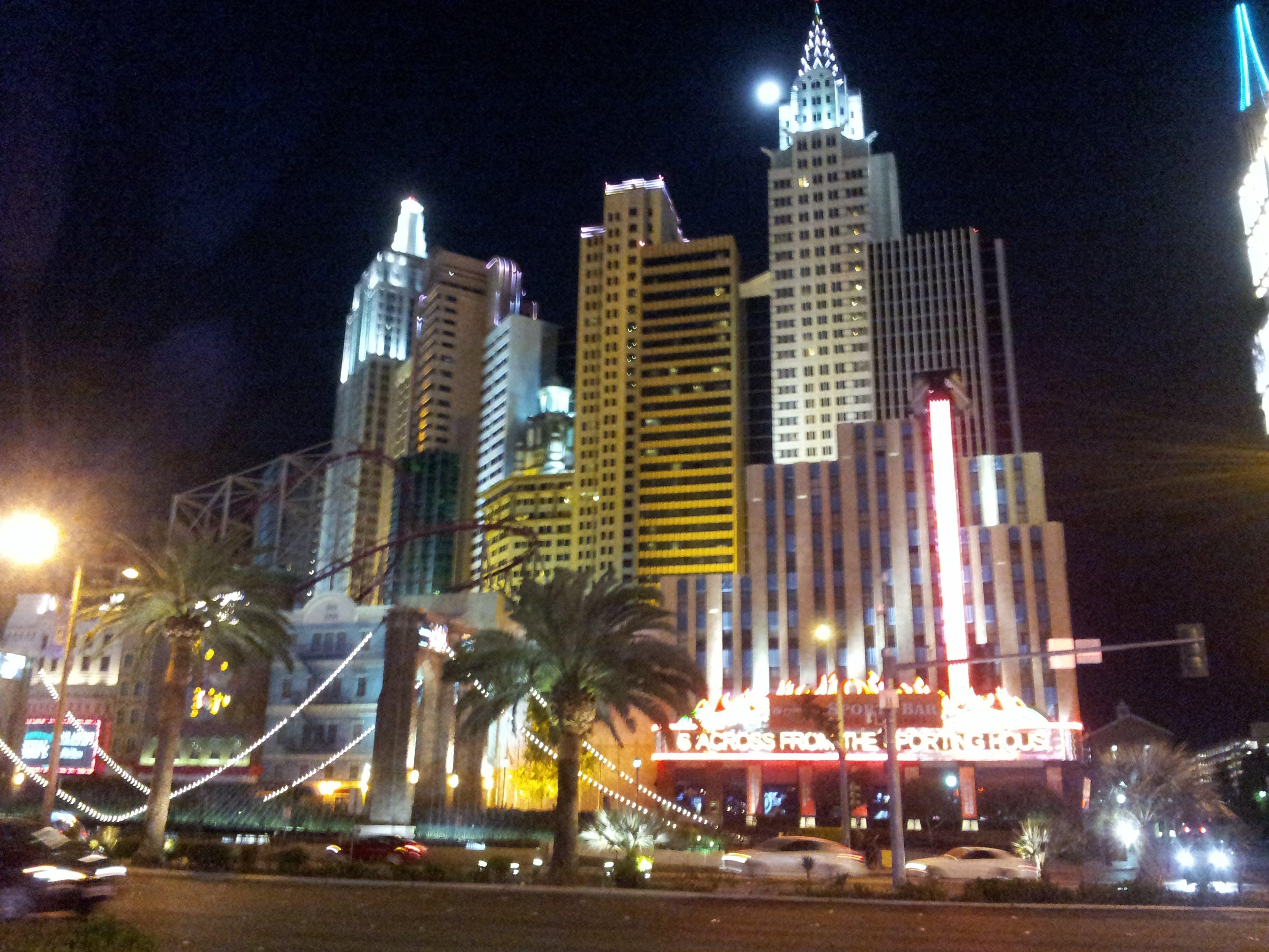 Free stock photo of Las Vegas, nevada, new york