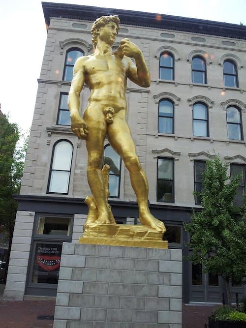 Foto d'estoc gratuïta de david, estàtua, rèplica