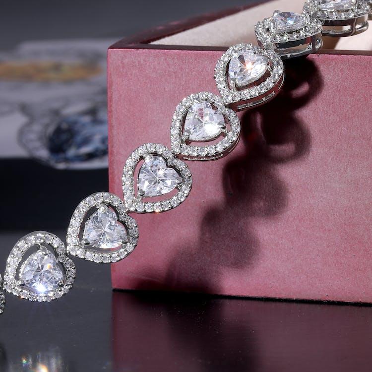 Diamond Studded Bracelet