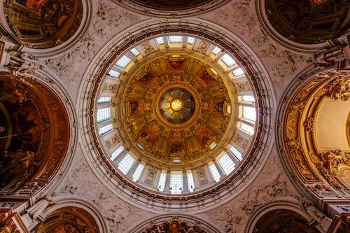 Kostnadsfri bild av arkitektur, design, gammal, guld