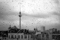 black-and-white, city, art