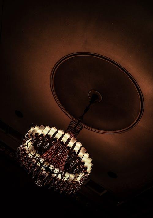 光, 光線, 吊燈, 掛 的 免費圖庫相片