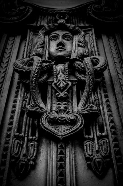 New free stock photo of black-and-white, art, landmark