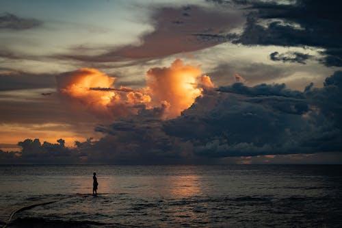 Gratis stockfoto met afgetekend, avond, dageraad, dramatisch