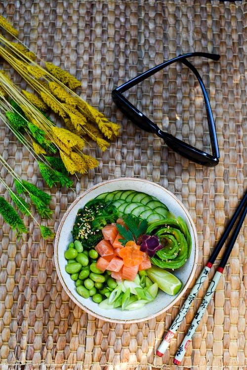 Δωρεάν στοκ φωτογραφιών με foodphotography, lifestyle, αβοκάντο, αγγούρι