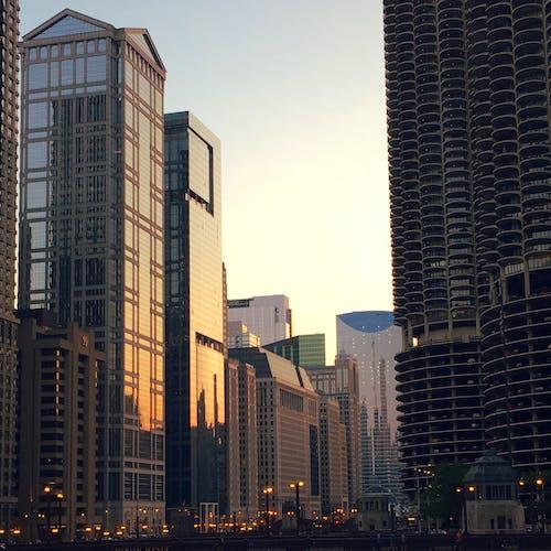 Darmowe zdjęcie z galerii z budynki, chicago, miasto