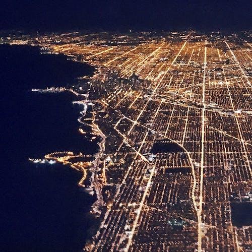 Darmowe zdjęcie z galerii z chicago, lotniczy, miasto