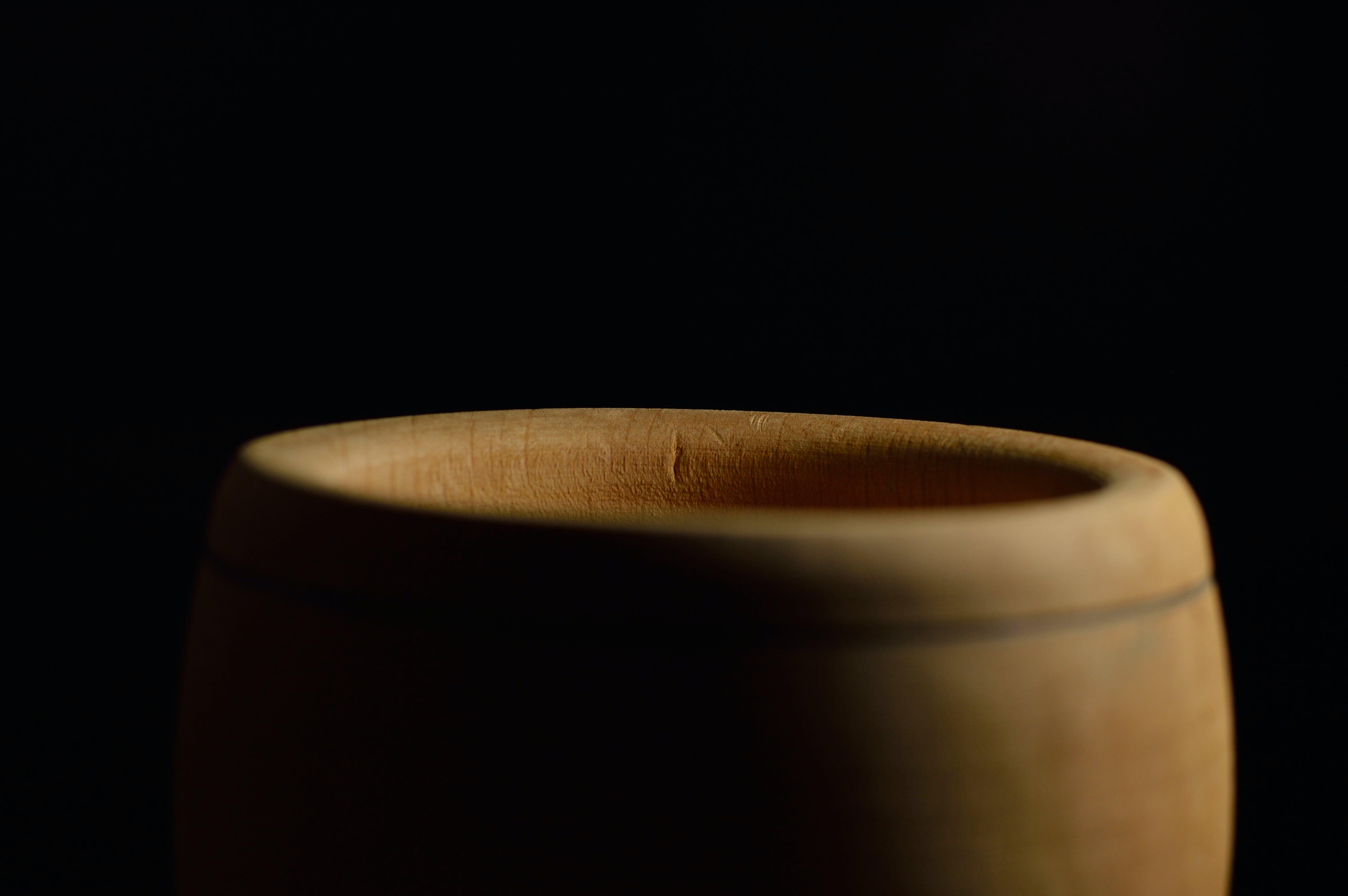 Brown Clay Vase