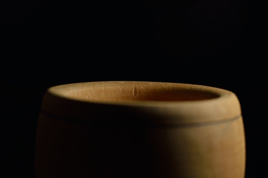 Free stock photo of wood, art, cup, dark