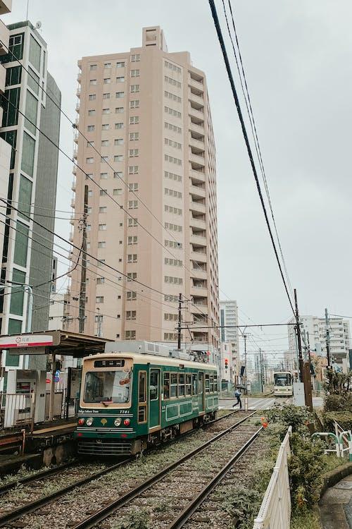 Mukohara Station in Tokyo Japan