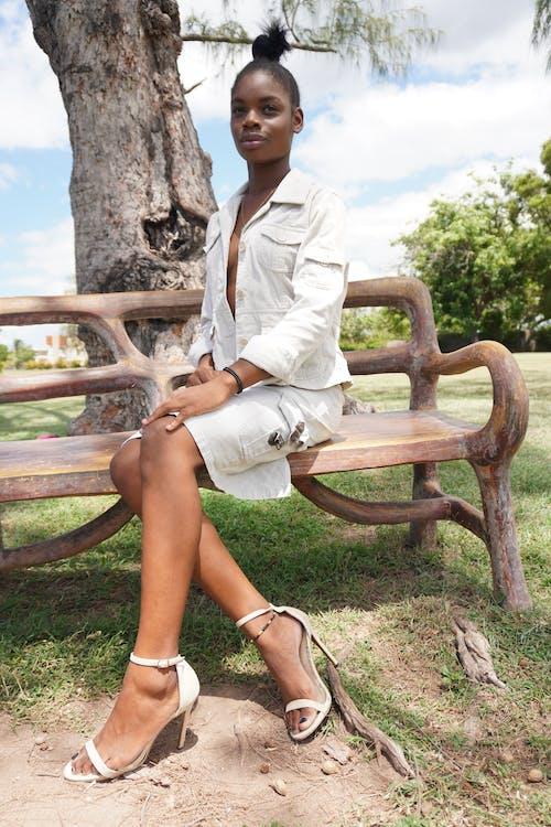 Foto d'estoc gratuïta de belles dones negres, model negre