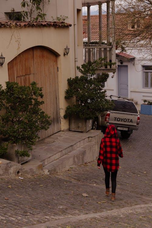Free stock photo of beautiful street, girl, walking alone