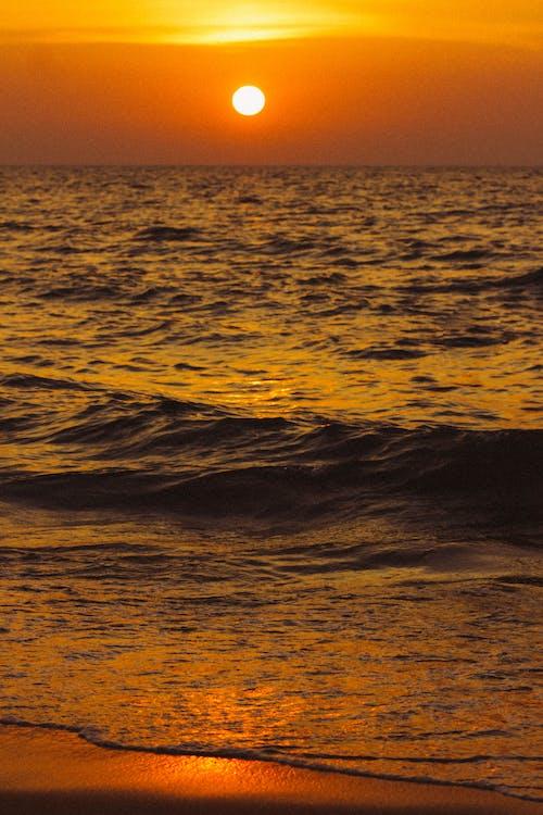 Ocean Waves during Golden Hour