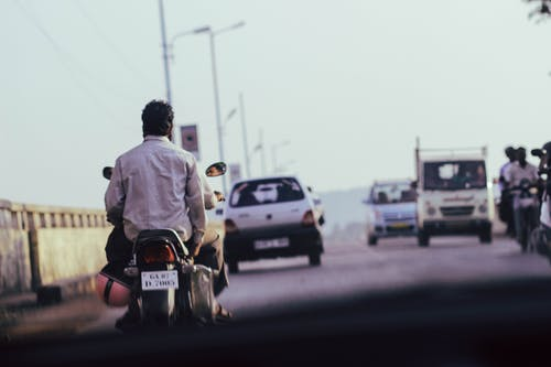 Free stock photo of bike, colors in india, india