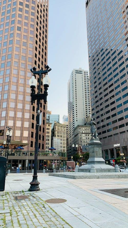 Gratis arkivbilde med downtown boston, state street