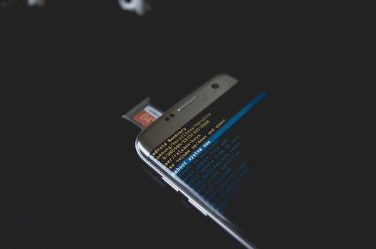 Free stock photo of smartphone, technology, blur, display