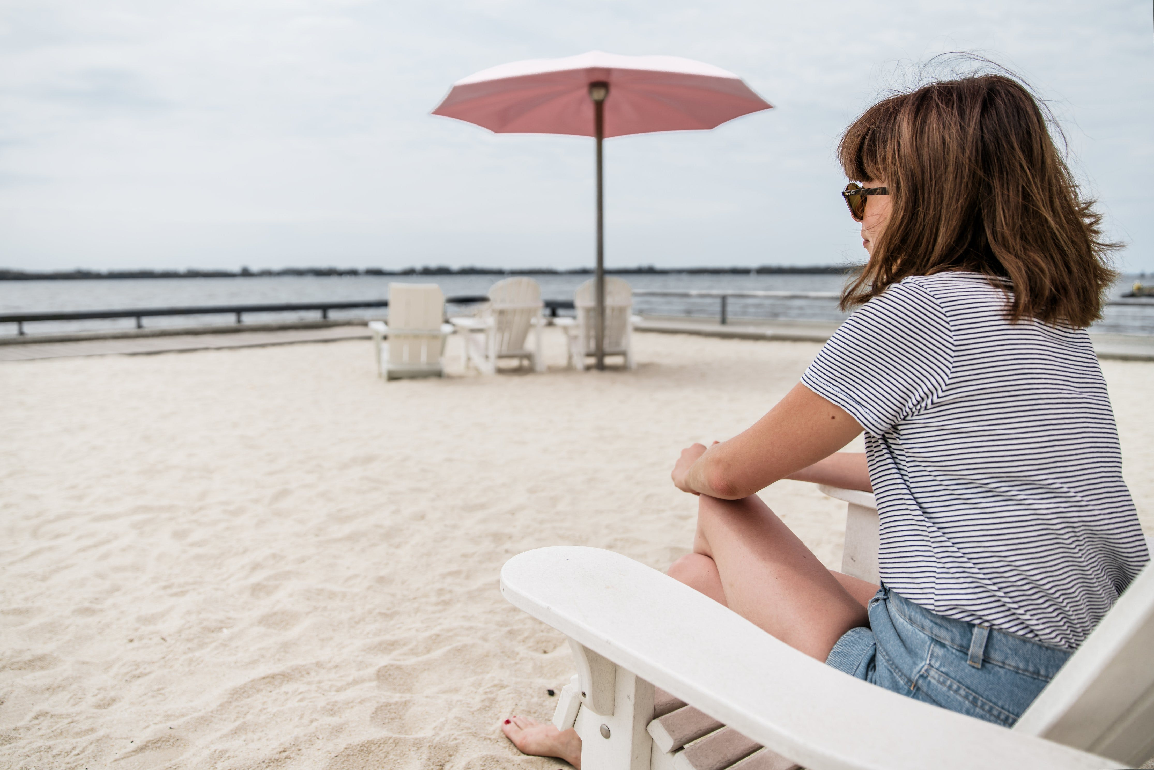 Ảnh lưu trữ miễn phí về biển, bờ biển, cái ghế, cát