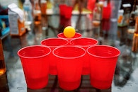 red, cup, party