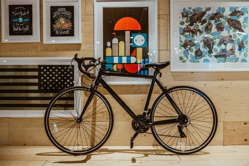 Black Race Bicycle