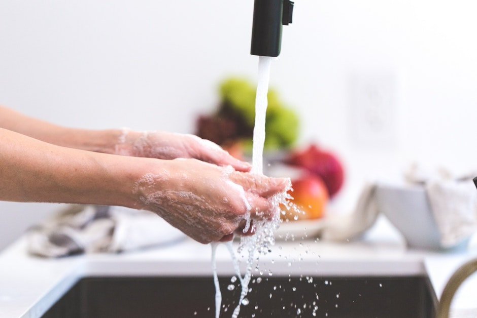 cooking, hands, handwashing