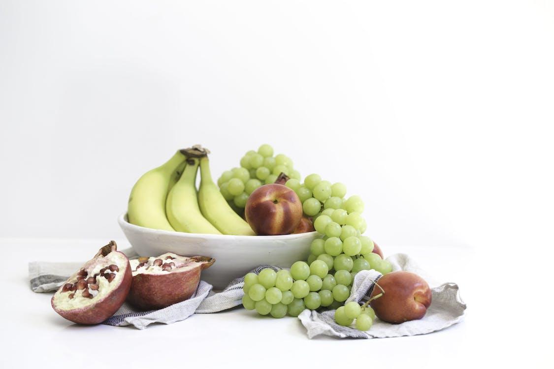 banán, čerstvý, chutný