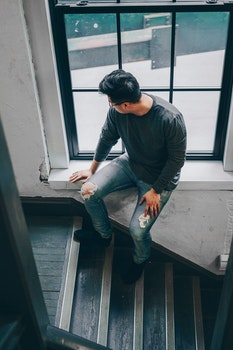 Free stock photo of stairs, man, person, building
