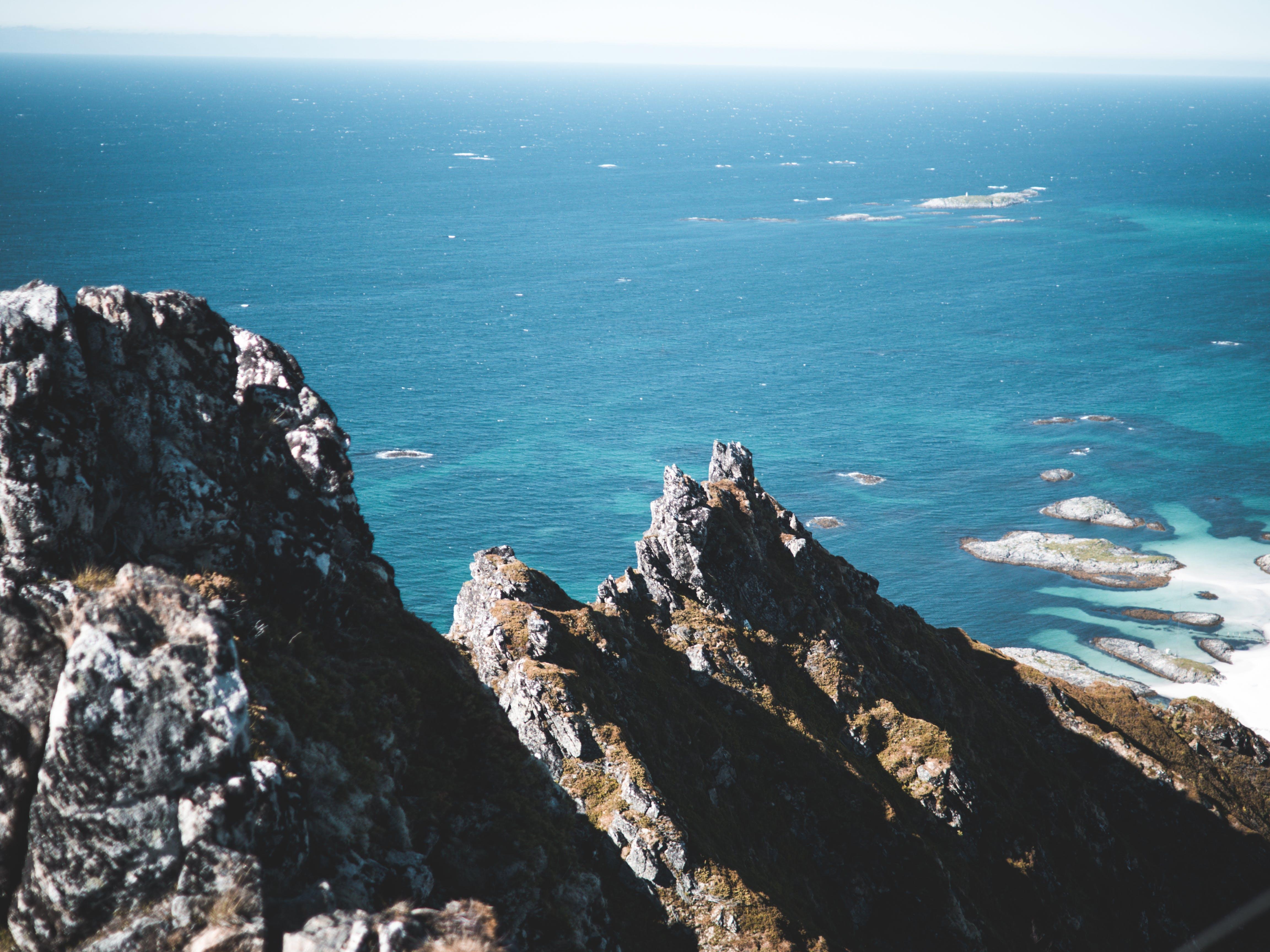Gratis lagerfoto af bjerg, dagslys, ferie, fugleperspektiv