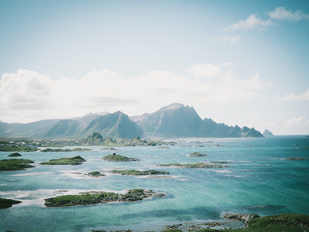 idyllinen, luonto, maisema
